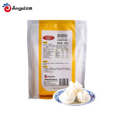 安琪百钻发糕粉 家用自制大米糕点做红糖发糕原料专用预拌粉200g(2袋起售)