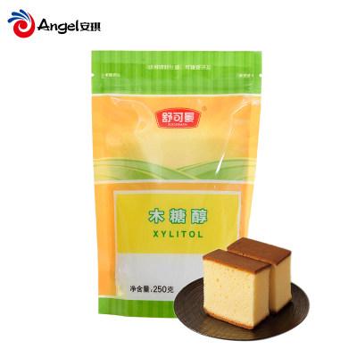 舒可曼木糖醇糖 无蔗糖食品代糖甜味剂 烘焙蛋糕饼干原料250g袋装