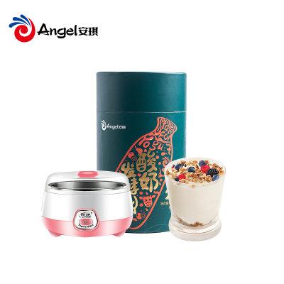 安琪酸奶发酵菌粉26菌型家用益生菌自制原味酸奶发酵剂1g*30小包(送酸奶机)