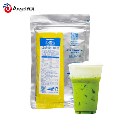 果然豆奶盖粉芝士海盐味 家庭自制奶茶专用原料 打奶泡奶霜粉100g