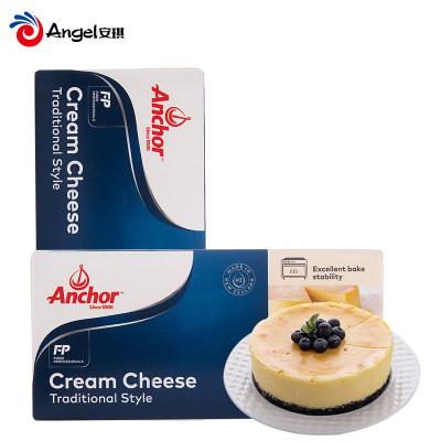 安佳奶油干酪cream cheese奶油芝士奶酪进口乳酪1kg烘焙蛋糕原料