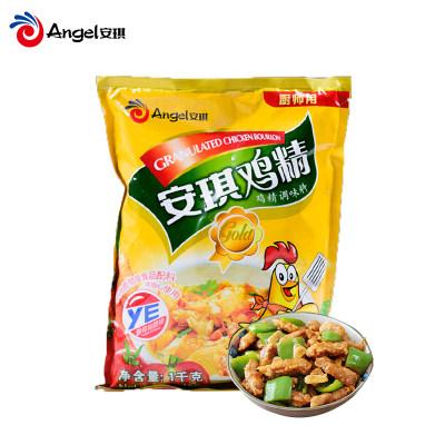 安琪YE鸡精 厨房炒菜煲汤火锅调料 商用食堂调味料鸡精大袋1000g