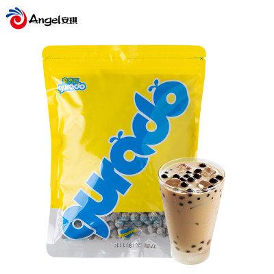 gurado果然豆珍珠粉圆 琥珀白黑珍珠粒免煮 奶茶店专用原料500g