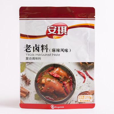 安琪老卤料 卤水汁调料卤料包 家用做卤肉卤菜调味料麻辣风味210g