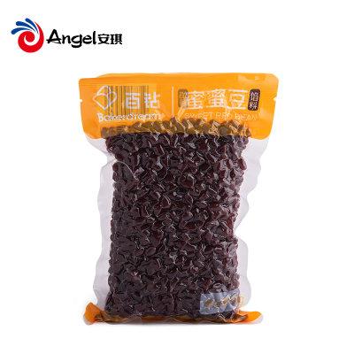 百钻蜜蜜豆即食熟红豆做月饼馅料水果捞沙蜜豆奶茶店甜品配料500g