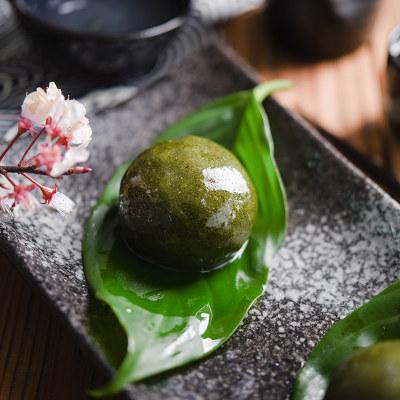 网红青团材料套餐清明节烘焙自制蛋黄肉松糯米团子原料食用艾草粉