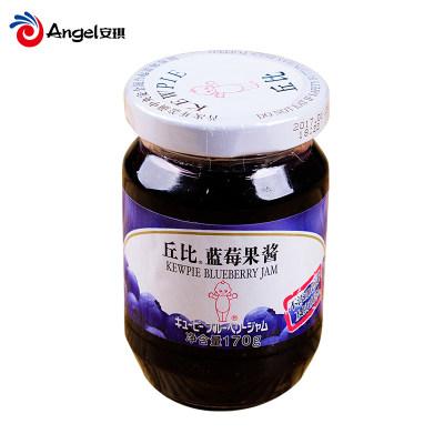 丘比蓝莓果酱 早餐面包蛋糕蓝莓酱diy酸奶刨冰果酱烘焙原料170g