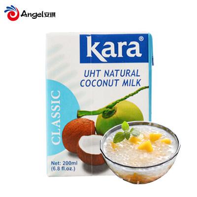 kara佳乐椰浆200ml印尼进口浓椰汁椰子汁 烘焙甜点椰浆西米露材料