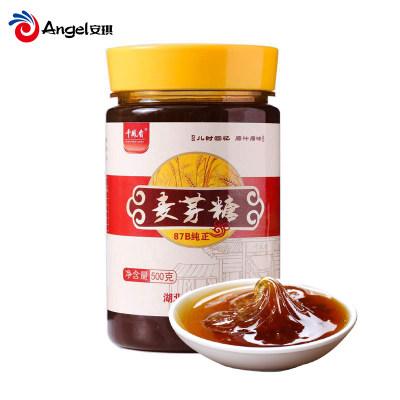 千凤香87B纯正麦芽糖饴糖零食棒棒糖搅搅糖 烘焙牛轧糖材料500g*2