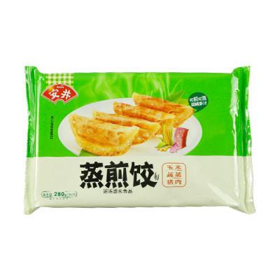 安井玉米蔬菜猪肉蒸煎饺280g(14只)*1袋