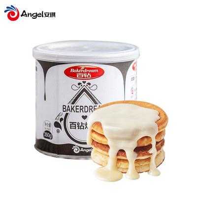 百钻炼乳 炼奶甜点蛋挞材料 奶茶咖啡调制加糖炼乳 烘焙原料350g