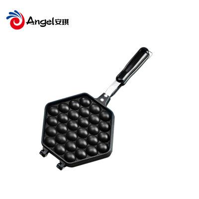 百钻鸡蛋仔烤盘 家用做QQ蛋仔饼小蛋糕模具 燃气灶用烤盘烘焙工具