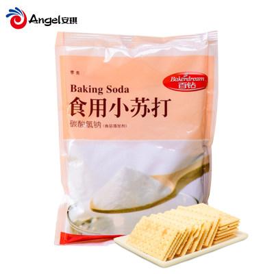 百钻食用小苏打粉 清洁小梳打粉碳酸氢钠 做饼干面包烘焙原料180g