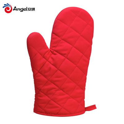 百钻烘焙手套 防烫加厚隔热耐高温厨房家用烤箱微波炉专用手套1只