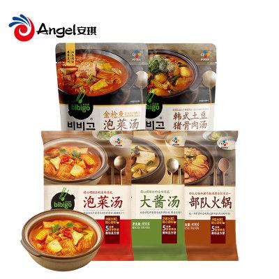 必品阁韩式泡菜汤速食汤包韩汤辣白菜锅韩国豆腐汤料酱料460g