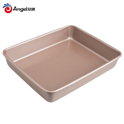 百钻长方形深烤盘烤箱不粘家用烘焙工具古早蛋糕面包雪花酥模具