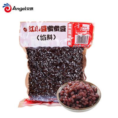 京日蜜蜜豆红小豆 即食糖蜜豆熟红豆粒 烘焙原料馅料500g