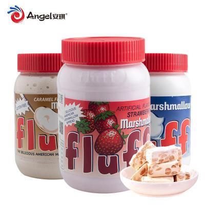法罗夫液体棉花糖 美国进口烘焙牛轧糖雪花酥原材料213g液态罐装