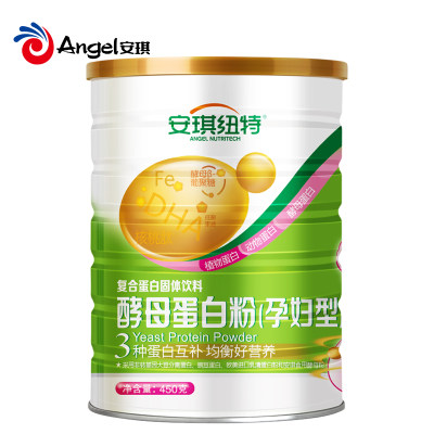 【安琪纽特】酵母孕妇蛋白粉 450g/罐
