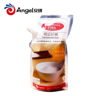 烘焙原料百钻精幼砂糖 精制细砂糖白糖 食用白砂糖烘培材料400g