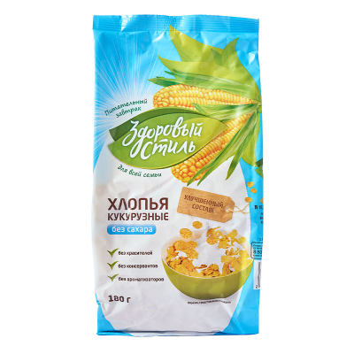 健康的方式牌玉米片(膨化食品)180g