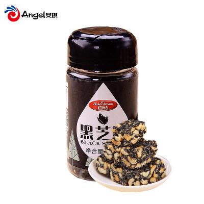 百钻黑芝麻 炒熟即食黑芝麻粒 杂粮汤圆馅料面包饼干烘焙原料100g