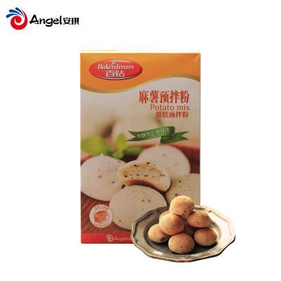 安琪百钻麻薯粉diy麻薯面包预拌粉 手工自制麻糬糕点烘焙原料