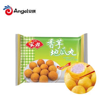安井香芋地瓜丸420g 丸子糕点冷冻油炸方便小吃点心
