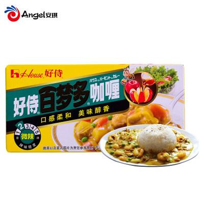 好侍百梦多咖喱 做咖喱鸡肉牛肉饭调味酱料 日式块状咖喱调料100g