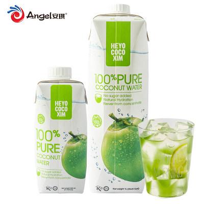 【踏青春游】嗨噢可可新椰子水 饮料越南进口椰汁自制果茶冲饮椰子鸡原料