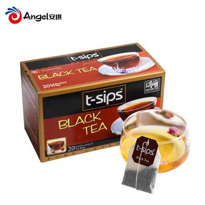 【内购5元秒杀】t-sips红茶包 一次性袋泡茶茶叶 奶茶店专用袋装调味茶2g*20袋/盒