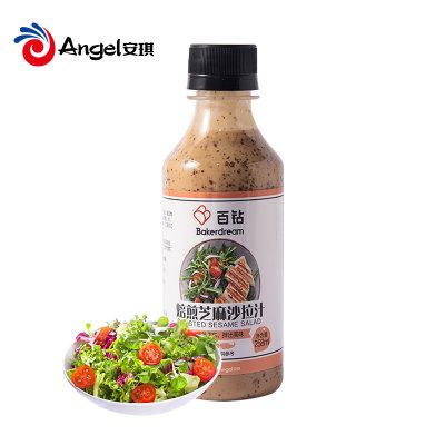 百钻焙煎芝麻沙拉汁家用培煎沙拉酱拌蔬菜水果凉面火锅蘸料258ml