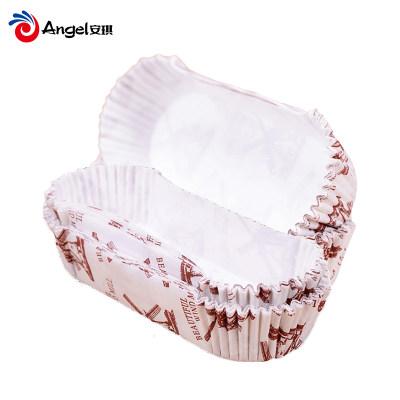 百钻面包纸托 耐高温烤箱用蛋糕纸托底托垫 烘焙工具防油纸杯