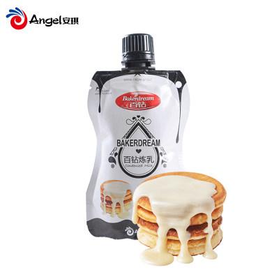 百钻炼乳 小包装炼奶淡奶 甜点奶茶蛋挞材料咖啡伴侣烘焙原料150g
