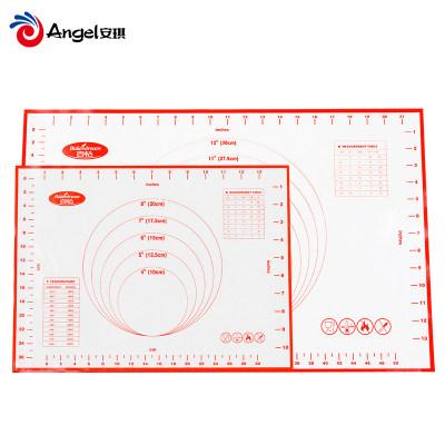 百钻耐高温硅胶垫 长方形揉面垫擀面案板 烤盘垫烘焙厨房家用