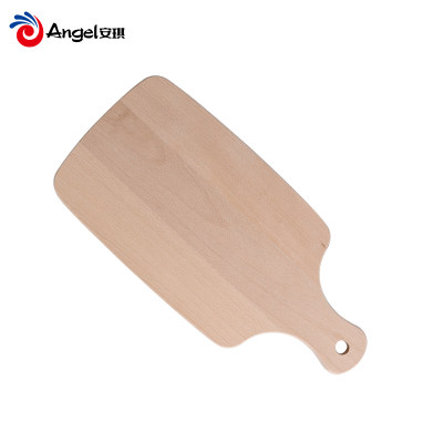 百钻面包板 实木披萨板托盘 切牛排案板水果砧板厨房西餐烘焙用具