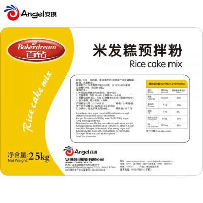 安琪百钻米发糕预拌粉做米糕专用大米粉湖北特产25kg
