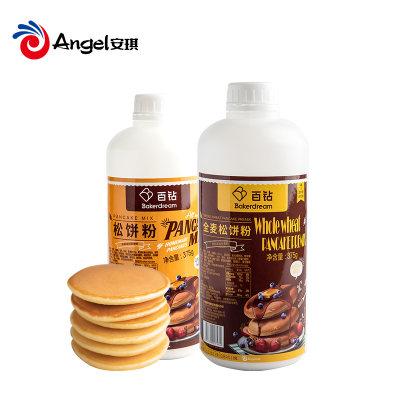 百钻松饼粉华夫饼粉 早餐松饼预拌粉家用烘焙原味煎饼原材料375g